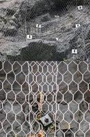 Защита от камнепада крученой сеткой